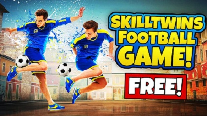 skilltwins-football-game-logo