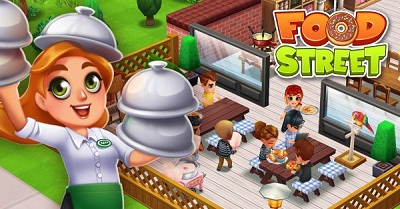 food-street-restaurant-game-logo