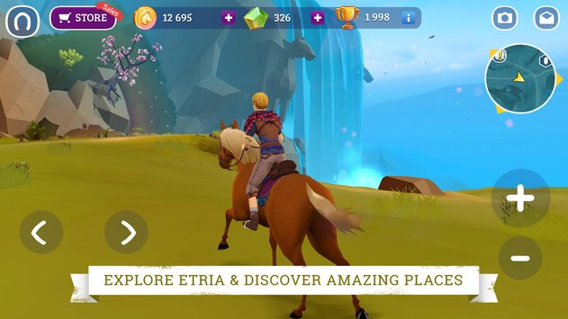 Horse Adventure Tale of Etria 2