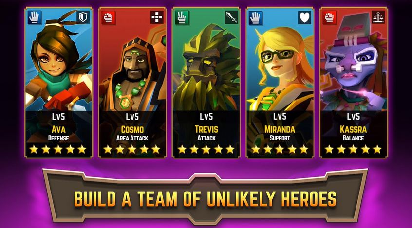 Legacy Quest Rise of Heroes 1