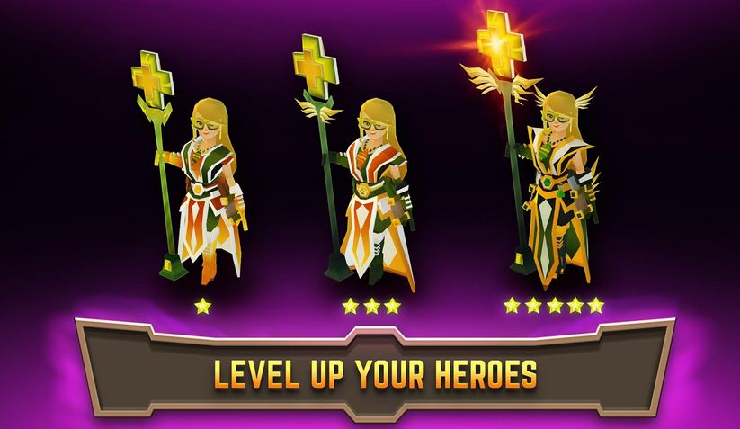 Legacy Quest Rise of Heroes 4