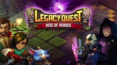 Legacy Quest Rise of Heroes logo