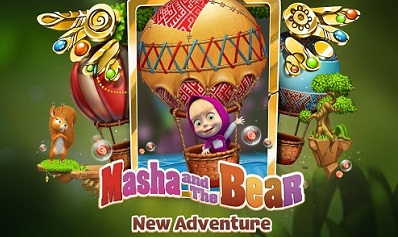 Masha and The Bear Adventure logo