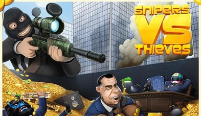 Snipers vs Thieves 7