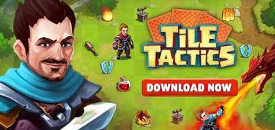 Tile Tactics Card Battle Game logo