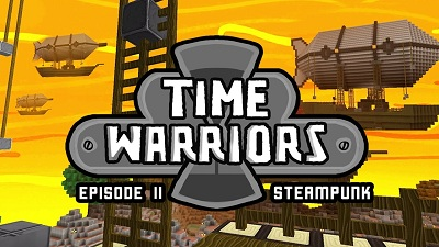 Time Warriors - Steampunk logo