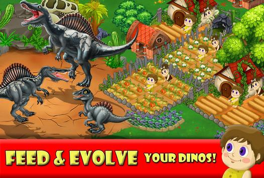 DINO WORLD Jurassic builder 2 4