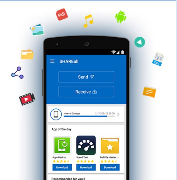 SHAREall PRO File Transfer 9