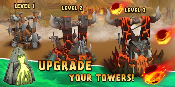 Skull Towers - Castle Defense 2