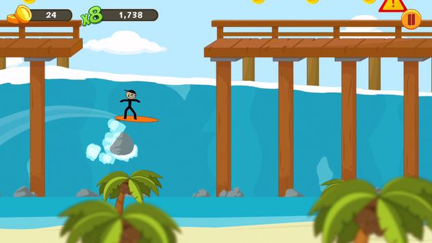 Stickman Surfer 1