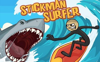 Stickman Surfer logo