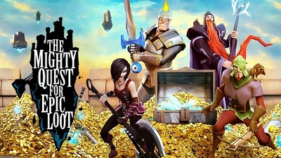 The Mighty Quest for Epic Loot logo