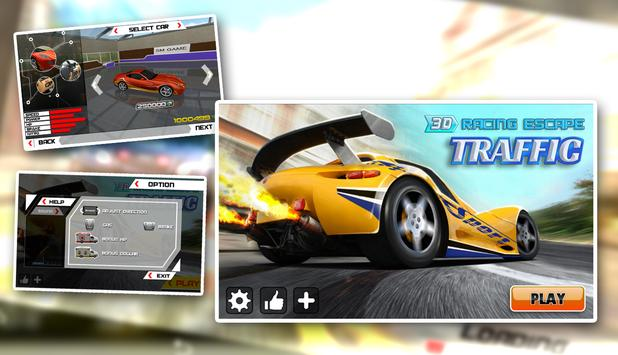 Traffic Racing Escape 3