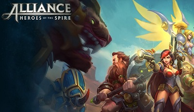 Alliance Heroes of the Spire logo