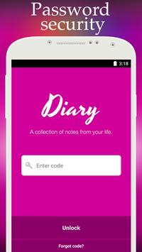 Diary with lock1