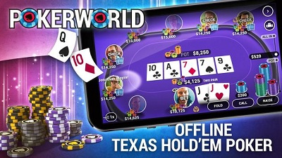 Poker World - Offline Poker logo