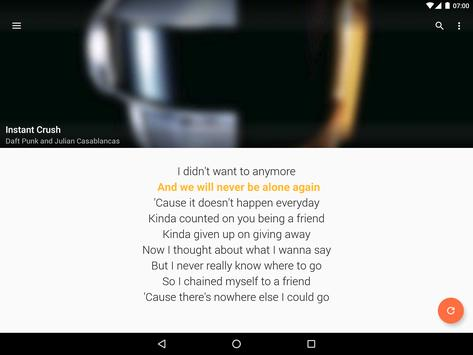 QuickLyric Instant Lyrics6