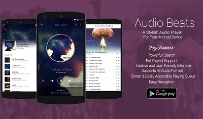 Audio Beats Music Player