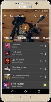Audio Beats Music Player1