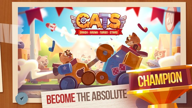 CATS Crash Arena Turbo Stars 5