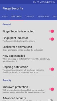 FingerSecurity 3