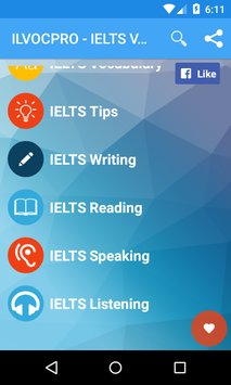IELTS Vocabulary ILVOC1