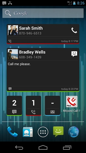 Missed Call SMS Reminder Pro2