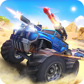 Overload 3D MOBA Car Shooting