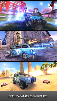 Overload 3D MOBA Car Shooting2