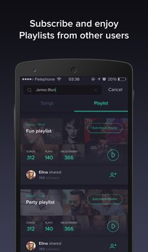 Pindrop Music smart playlists3