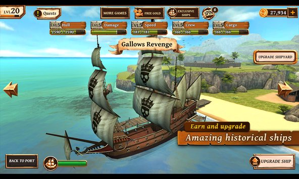 Ships of Battle Age of Pirates 4