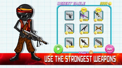 Sniper Shooter Stickman 2 Fury2