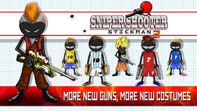 Sniper Shooter Stickman 2 Fury4