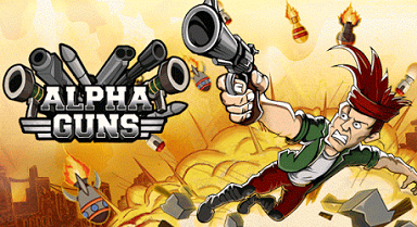 Alpha Guns - free logo