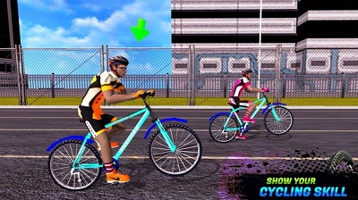 BMX Extreme Bicycle Race 24