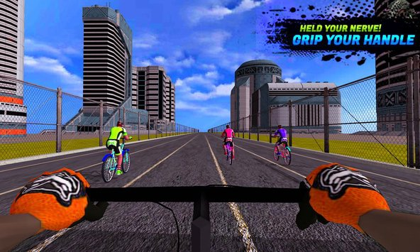 BMX Extreme Bicycle Race 25