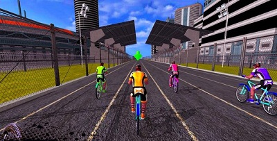 BMX Extreme Bicycle Race 28