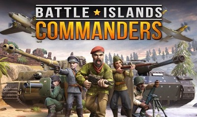 Battle Islands Commanders logo