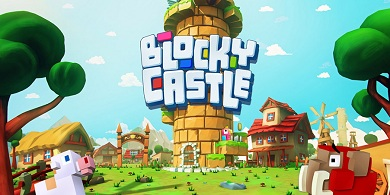 Blocky Castle logo