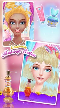 Cinderella Makeup Salon 6