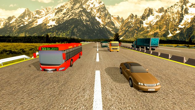 Coach Bus Simulator Driving 2 3