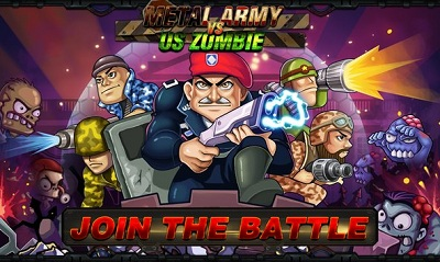 Metal Army vs US Zombie