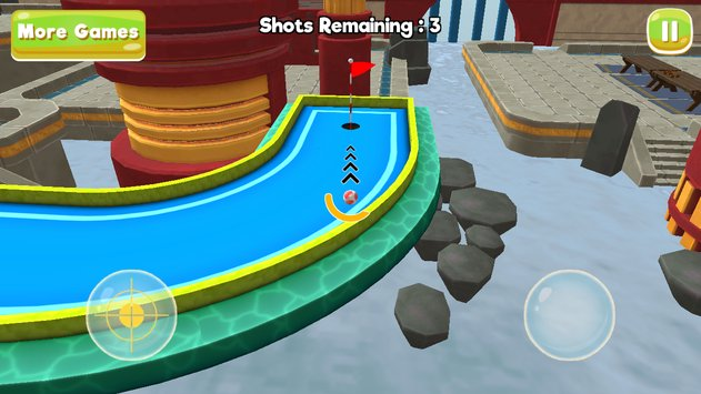 Mini Golf 3D City Stars Arcade 4