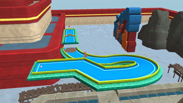 Mini Golf 3D City Stars Arcade 6