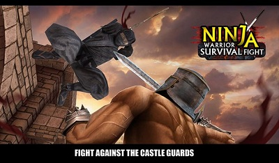 Ninja Warrior Survival Fight logo
