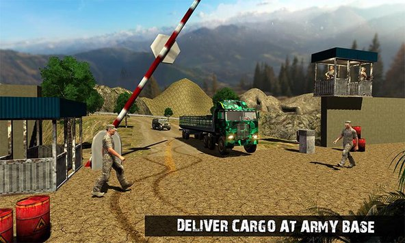 OffRoad US Army Transport Sim 5