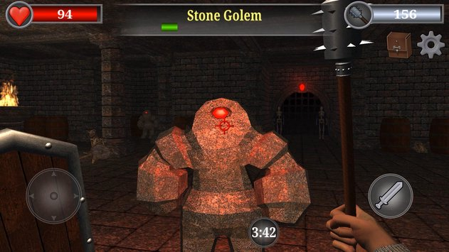 Old Gold 3D Dungeon Quest RPG 5