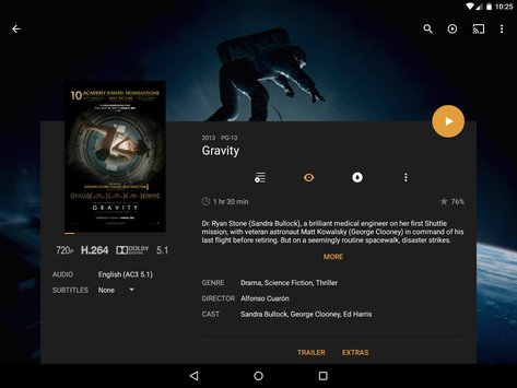 Plex for Android11