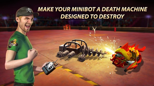 Robot Fighting 2 - Minibots 3D 1