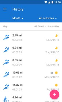 Runtastic Running Fitness2